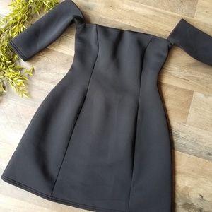 ASOS • Black Off-Shoulder Dress